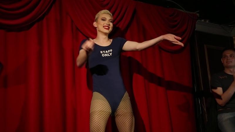 Gala Delay Drag Queen at Drag Race Moscow in JIMNJACKs
