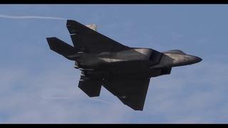 F-22 Raptor Demo Team Practice Oct 23, 2020