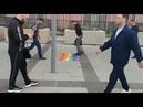 Russians Trample the LGBT Flag in front of US Embassy
