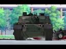 LANDING A TYPE 10 Main Battle Tank (Girls und Panzer Season 1)