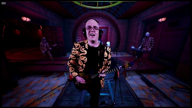 Devin Townsend Depth Charge LIVE Devin's Crappy Halloween Party 2020