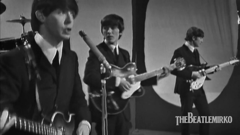 The Beatles All My Loving Morecambe and Wise Show Elstree Studio Centre Borehamwood