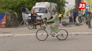 Первый костюмированный велопарад состоялся в Череповце