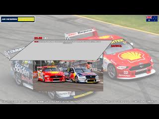 Virgin Australia Supercars Championship: CoreStaff Darwin SuperSprint, Гонка 2,  [A21 Network]