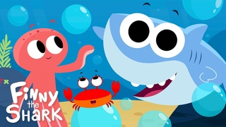 Pop The Bubbles | Kids Song | Finny The Shark
