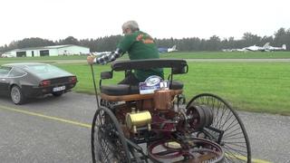 Benz Patent-Motorwagen No.1 in Action