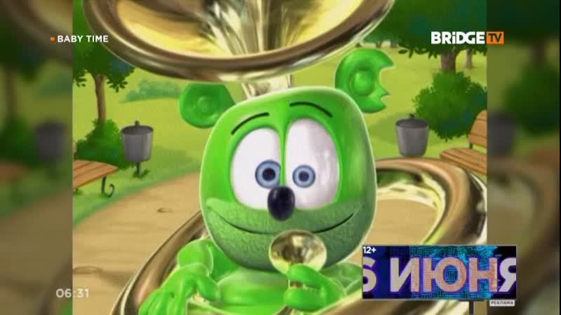 Gummy Bear — I Am A Gummy Bear (BRIDGE TV) Baby Time