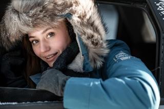 Сегодня на Урале пролетал снег!