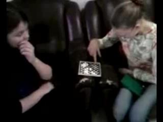 шашки с самой секасной девушкой школы))))