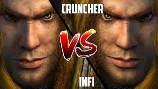 WC3: Infi (Human) vs. Cruncher (Human) [BlizzCon 2010 G2] | Warcraft 3