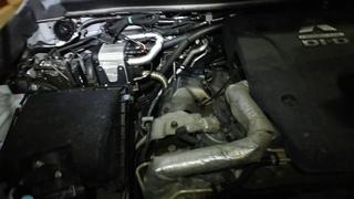 Установка Webasto thermo top evo 5 на Mitsubishi L200