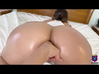 Трахнул сочную жену в анал, POV sex home porn film video milf wife fit body deep anal fuck fake tit boob cum oil (Hot&Horny)