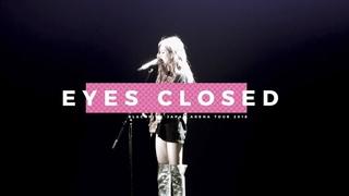 180816 BLACKPINK ROSÉ 블랙핑크 로제 솔로 Japan Arena Tour Fukuoka (Day1) 직캠 - Eyes Closed