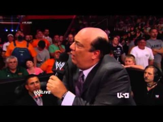 Paul Heyman - The winner of this match is the big, stupid, redheaded dummy