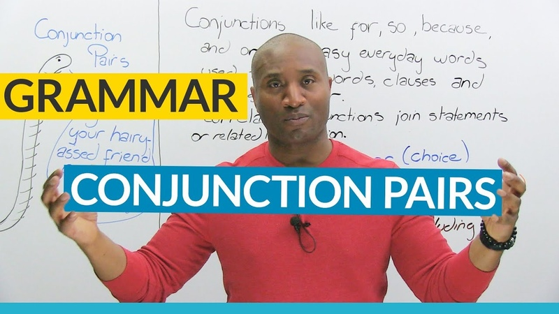 English Grammar Correlative Conjunctions (NEITHER NOR, EITHER OR, BOTH AND...)