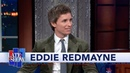 Eddie Redmayne Almost Didnt Survive The First Day Of Shooting The Aeronauts