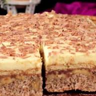 id_15955 Ореховый торт 🌰  Сладкая изюминка к праздничному столу 👍🏻  Автор: Appetitno TV  #gif@bon