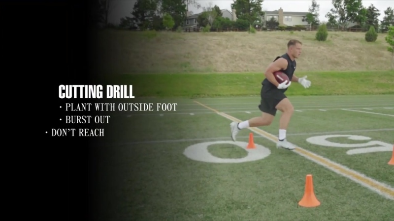 RB Drills w_ Christian McCaffrey to Improve Quickness and Footwork