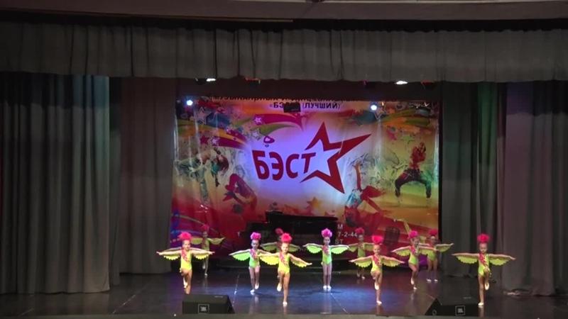 УЧАСТНИК №9 ШКОЛА ТАНЦА АКАДЕМИЯ группа 5 6 1 эстр танец ОЗОРНЫЕ ПОПУГАИ
