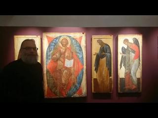 Иконостас. Деисусный ряд. Экскурсия из постоянной экспозиции Музея имени Андрея Рублева