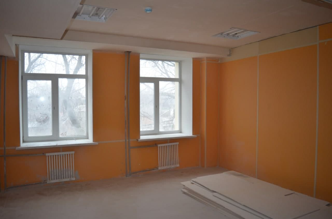 Под Таганрогом обновленная школа откроет двери для ребят в этом году