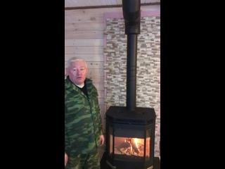 Видеоотзыв на монтаж печи Мета Ангара 12