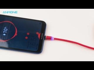 Зарядный провод. Магнитный Micro USB кабель🔌📲