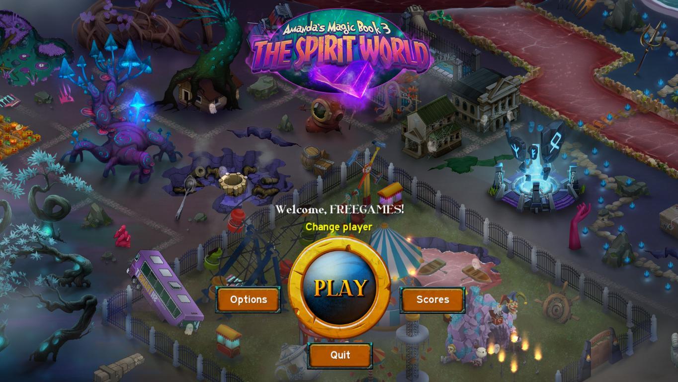 Волшебная Книга Аманды 3: Мир Духов | Amanda's Magic Book 3: The Spirit World (En)