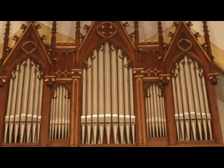 529 J. S. Bach - Organ Sonata No.5 in C major, BWV 529 [Trio Sonata]  - Simone Vebber, organ