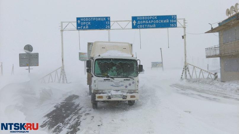 Ограничения по передвижению транспорта сняли на трассах Оренбуржья
