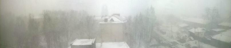 Снегопад )))
