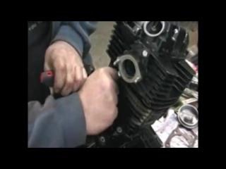 Ремонт мотоцикла IRBIS TTR 250. Сборка двигателя 165 FMM