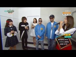 45RPM + Kim Jang Hoon & Eun Ga Eun - Interview @ Music Bank 160115
