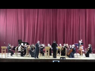 "Танеев С. Канцона для кларнета с оркестром. ""Баренц-камерата"""