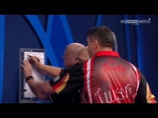 Mensur Suljovic vs Mark Webster (PDC World Darts Championship 2017 / Round 2)