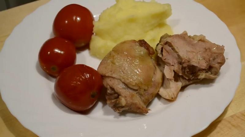 КУРИЦА в БАНКЕ в духовке Как вкусно приготовить курицу Chicken in the pot