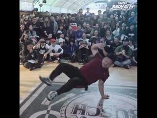 Bboy Dummy - BIG power moves at Taipei BBoy City 2017.