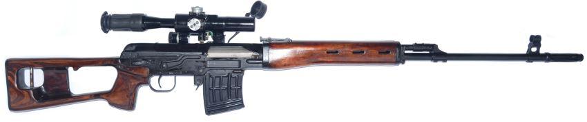 Снайперская винтовка Драгунова (СВД), вид справа.Источник фото: modernfirearms.net