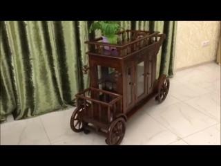 Сервировочный стол карета  PYW18