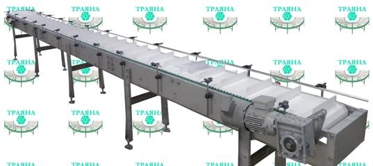 Траяна завод конвейер конвейер с магнитным барабаном