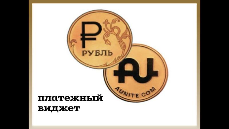 Платежный виджет Aunite Grour