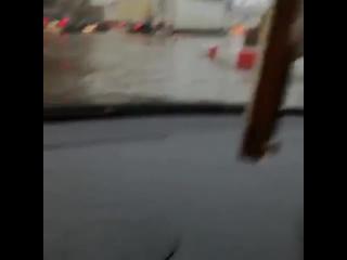 Потоп возле Шереметьево