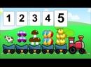 Развивающий мультик для детей 3-5 лет Учим цифры от 1 до 5