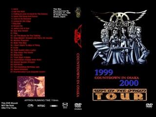 Aerosmith 1999 Millennium Countdown 2000 in Osaka