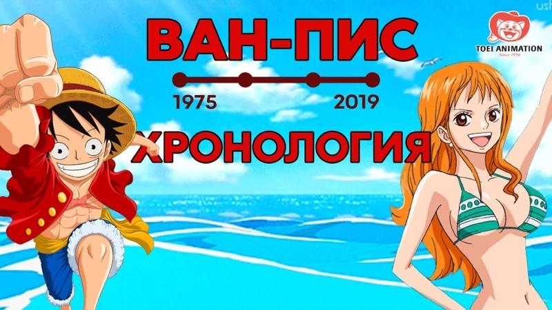 Crunchyroll Россия Вся хронология One Piece Ван пис до арки Вано Уголок Тима Лю