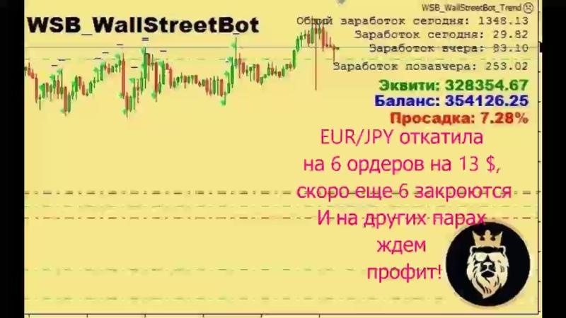 Робот качает евройена откатила!