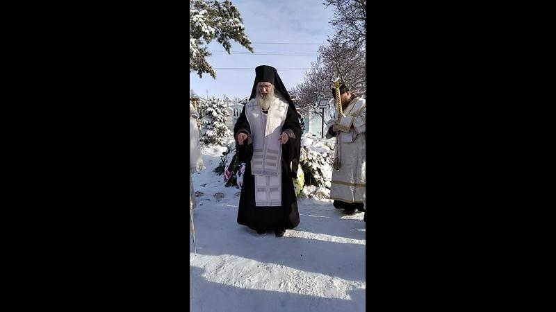 Слово еп. Елисея по окончании литии у могилы прот. Феодора в 9-й день со дня кончины