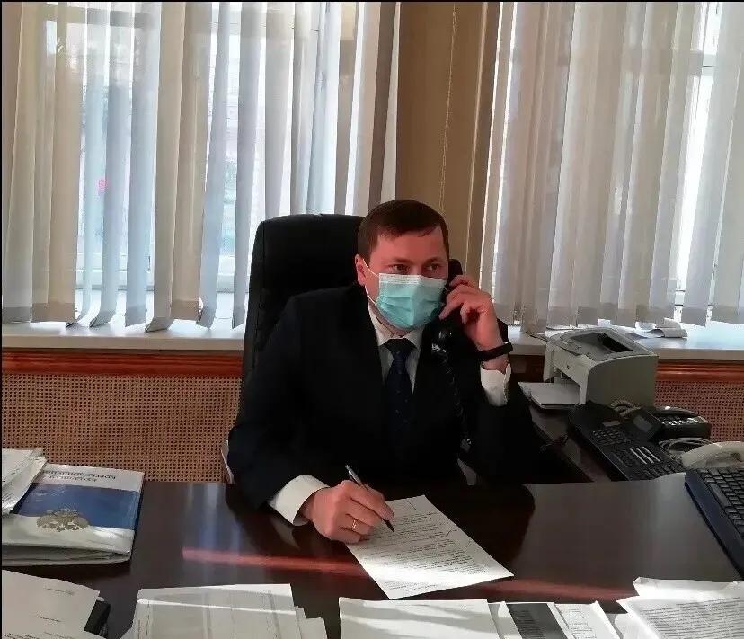 Куратор Петровского района Андрей Архипов провёл приём граждан