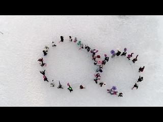 Милый флешмоб от тюменцев в честь 8 марта