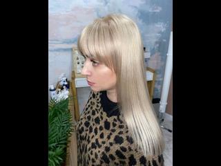Из мелирования в блонд
